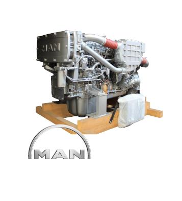 MOTOR MARINO <br>MAN<br>D2676 LE 421